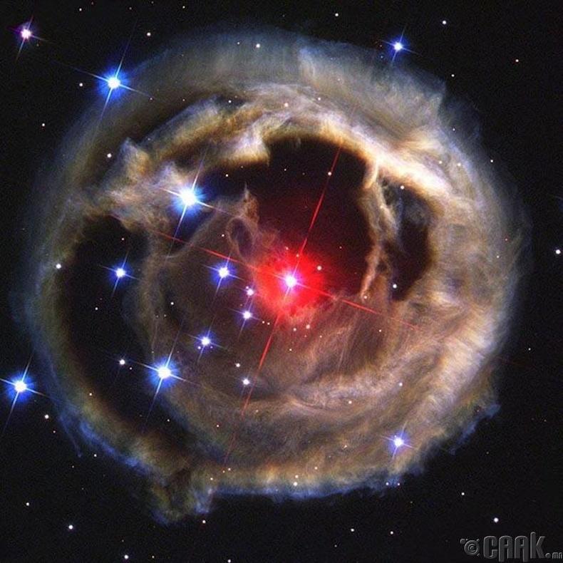 Дэлхийгээс 10.7 тэрбум гэрлийн жилийн зайд болсон сүйрэл