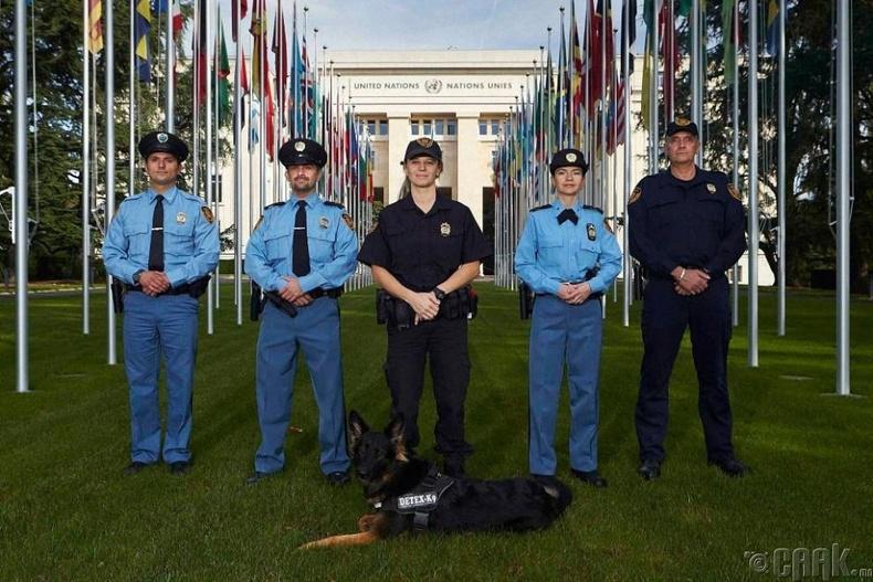 НҮБ-ын аюулгүй байдал хангах хүч