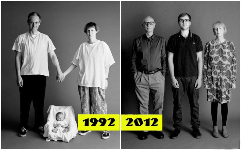 Нэгэн гэр бүл өөрсдийнхөө зургийг 20 жил авчээ
