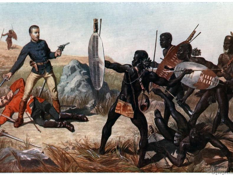 Африкийн омгийнхон - Эр зориг