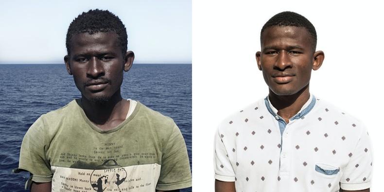 Абдул. Сьерра Леон улсаас гаралтай (1998 онд төрсөн)