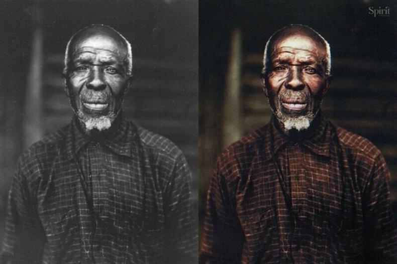 Африкаас АНУ-д зөөвөрлөгдөж ирсэн боолуудаас амьд үлдсэн сүүлчийн хүн - Кужо Левис, 1931 он.