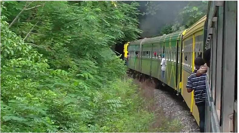 Ямайк улс нь дэлхийн бөмбөрцгийн баруун хэсгээс хамгийн анх галт тэрэгний замтай болсон орон юм. Тус замыг 1845 онд барьжээ