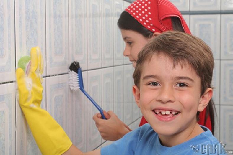 Угаалгын өрөө цэвэрлэх
