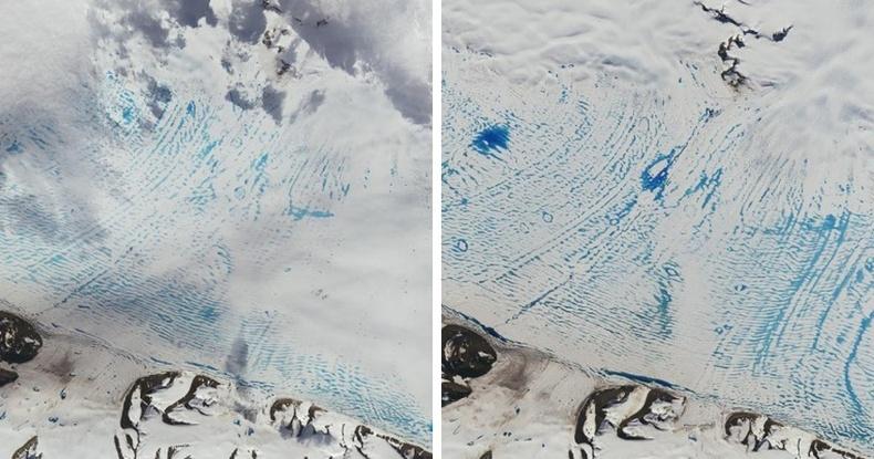 Антарктид тивд мөс хайлж эхлэв