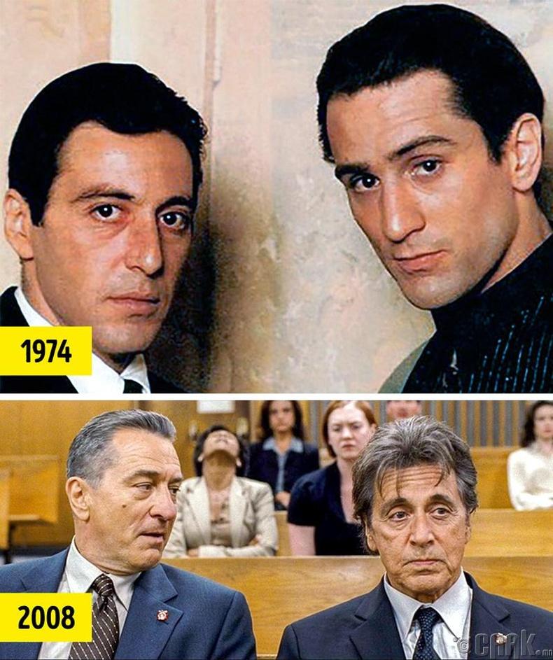 Аль Пачино мөн Роберт Де Ниро нар гурван кинонд тоглосон