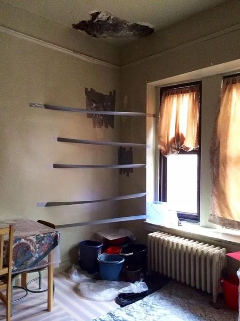 Хуучны байранд хэцүүхэн хөрштэй амьдардаг байх үед: