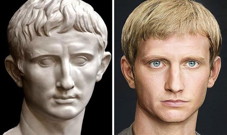 Ромын анхны эзэн хаан Август Цезарь