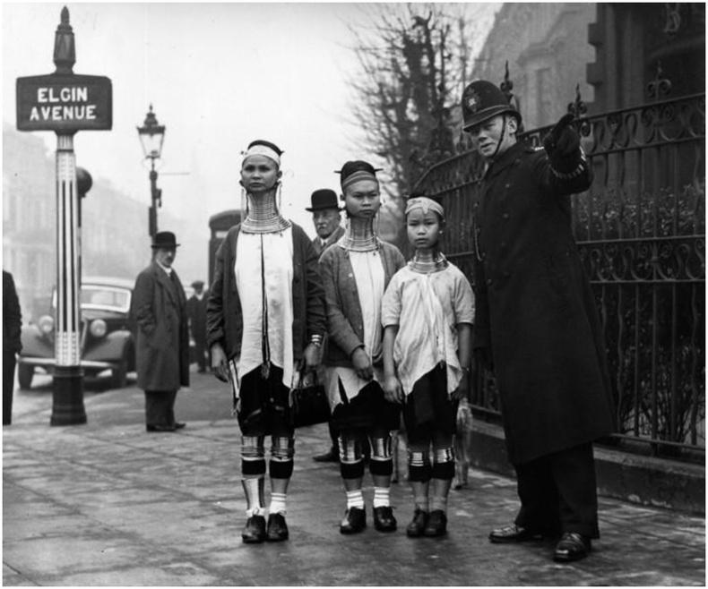 Бирм (одоогийн Мяньмар)-ийн эмэгтэйчүүд Лондон хотод, 1935 он