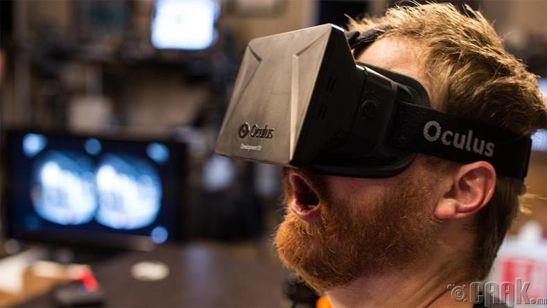 """Танкчдын өргөн харааны дуулга """"Oculus Rift"""""""