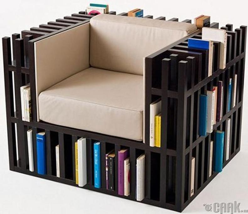 Номын тавиуртай буйдан
