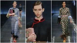 """""""Prada""""-ийнхан шоундаа монгол дээлний загварыг ашиглажээ"""