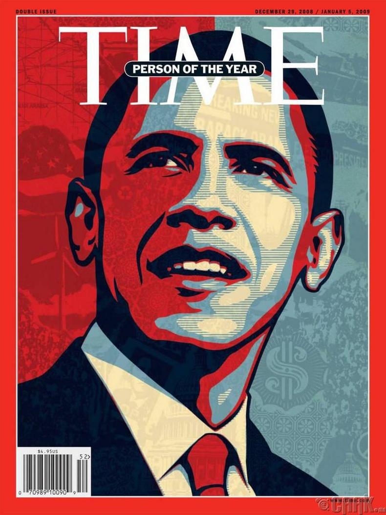 2008: Ерөнхийлөгч Барак Обама