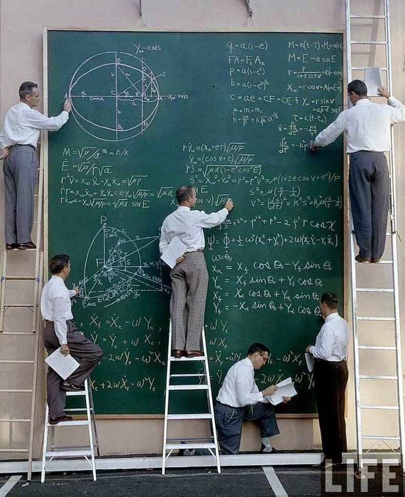 Компьютер гарахаас өмнө хиймэл дагуулын тойрог замыг эрдэмтэд ингэж тооцоолдог байжээ