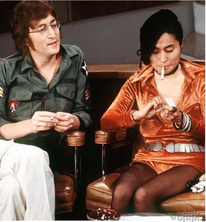 Жон Леннон, Ёоко Оно (John Lennon, Yoko Ono) нар ярилцлагын үеэр, 1971 он