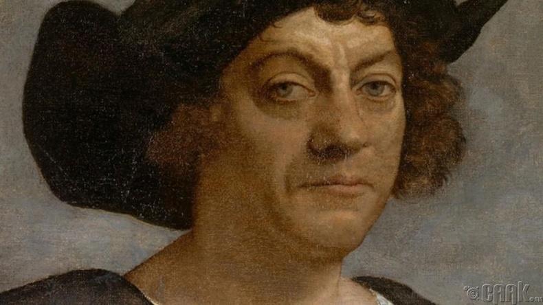 """Христофор Колумб (Christopher Columbus) Америк тивийг зорилготой нээсэн"""
