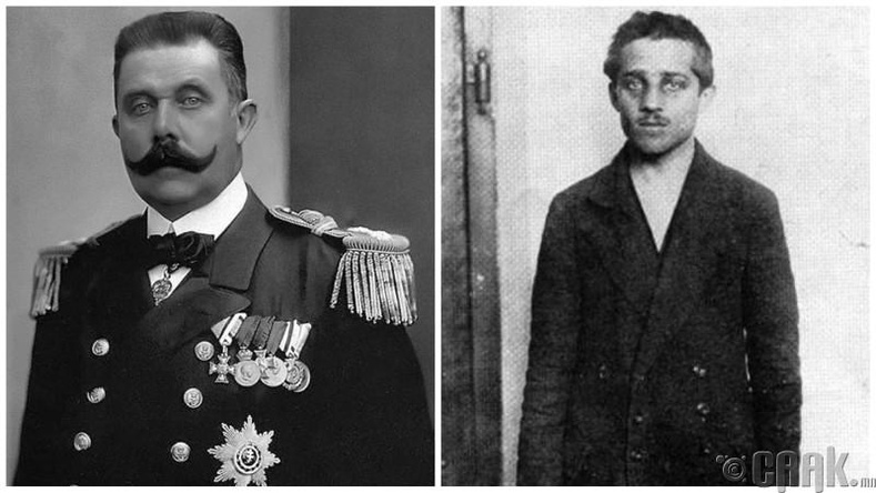Франц Фердинанд - Гаврило Принцип