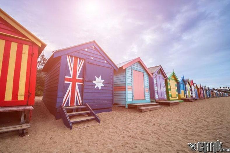 Мельбурн, Австрали:  Шууд фермээс нь авчирсан шинэхэн хүнс