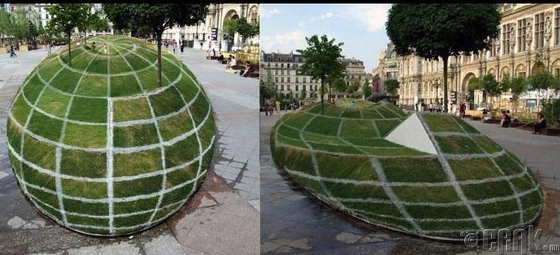 Парисын цэцэрлэгт хүрээлэнгийн хуурмаг үзэгдэл