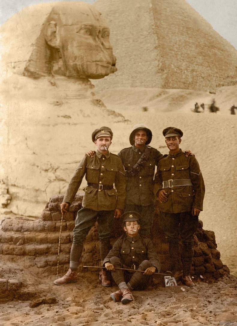 Цэргүүд Египетийн экспедицийн үеэр