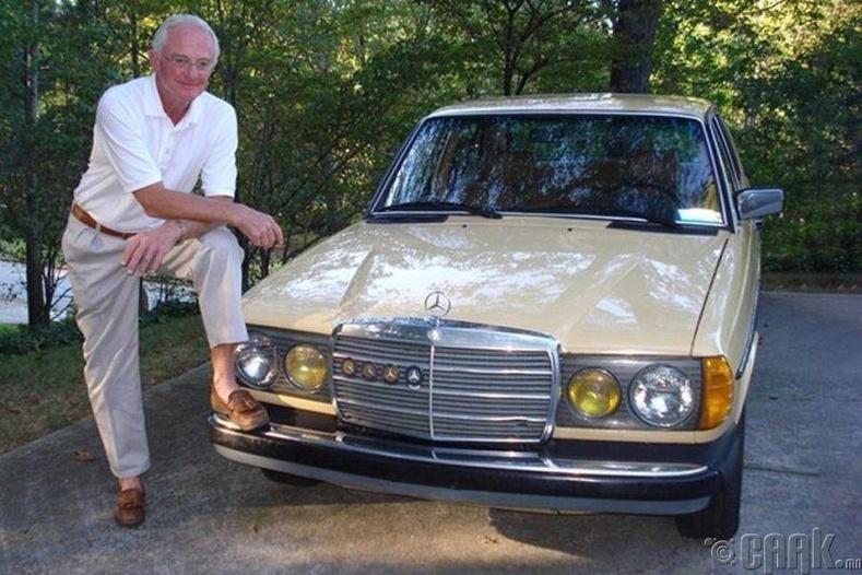 Пол Харман, Mercedes-Benz 240D