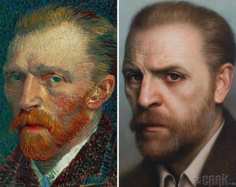 Зураач Винсент Ван Гог (Vincent van Gogh)