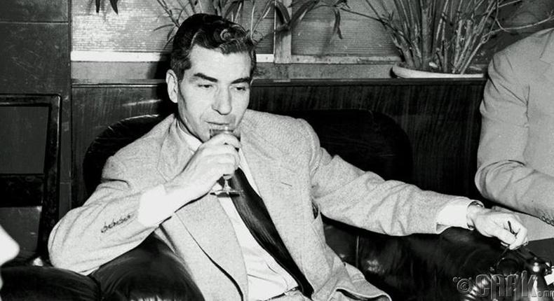 """""""Азтай эр"""" Чарли Лучиано /1897-1962/"""