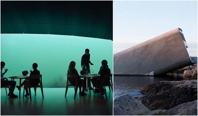 Дэлхийн хамгийн анхны далай доорх зоогийн газартай танилц!