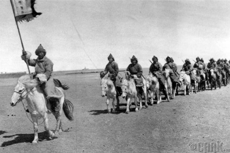 Өвөр Монголын цэргүүд - 1935 он