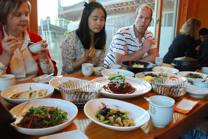Солонгосчууд юу иддэг вэ?