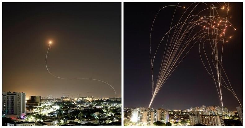"""Израилийн """"Төмөр дээвэр"""" хамгаалалтын систем Палестины пуужингуудын эсрэг үр дүнгээ үзүүлж байна"""