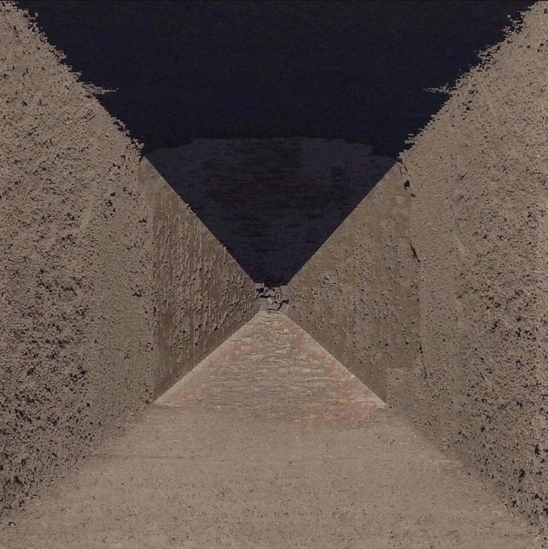 Египетийн Гизагийн пирамидыг чанх дээрээс нь харвал...