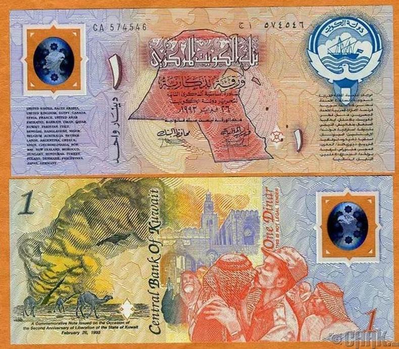 Кувейт динар (KWD)