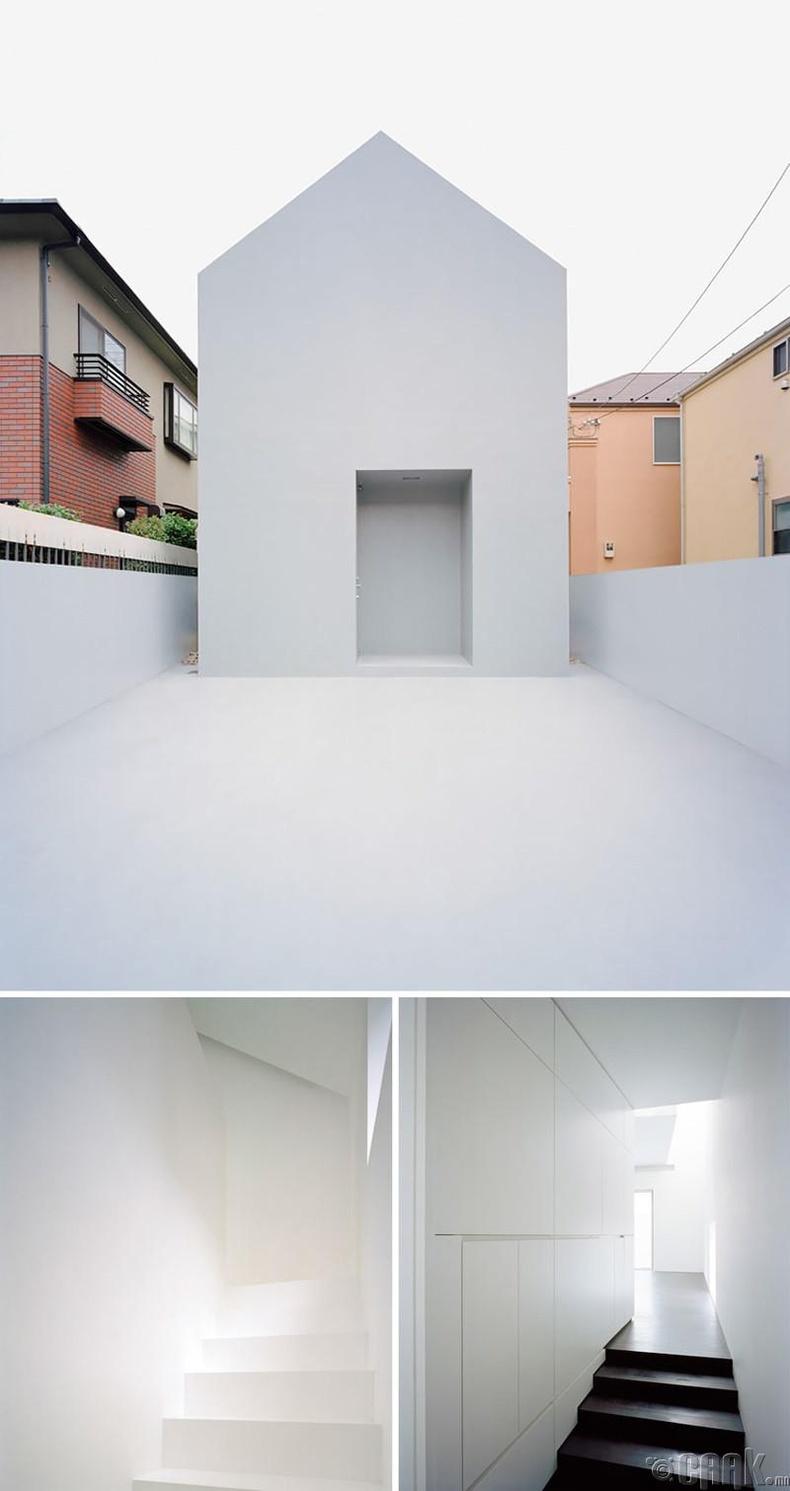 Токиод орших өвөрмөц байшин