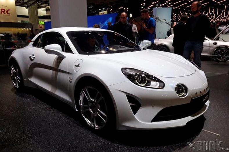Alpine A110. Үнэ: 360,000 ам.доллар