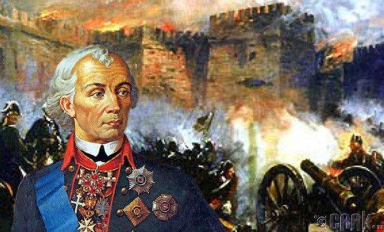 """Суворов болон """"Ногайн асуудлыг нэг мөр шийдсэн нь"""""""