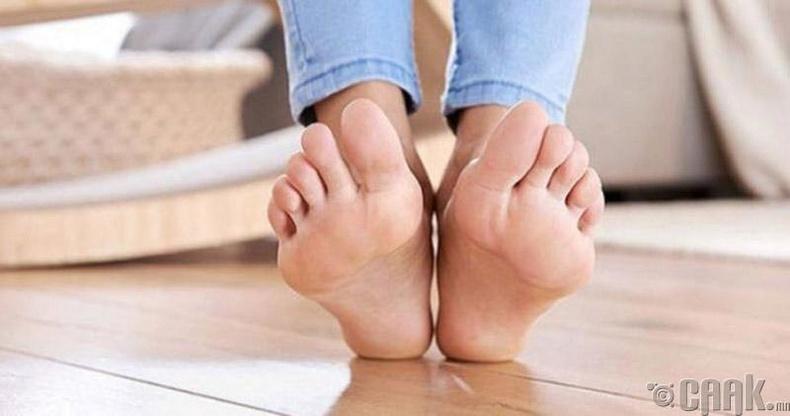 Хөлийн хуурайшилтын эсрэг талхыг хэрэглэх