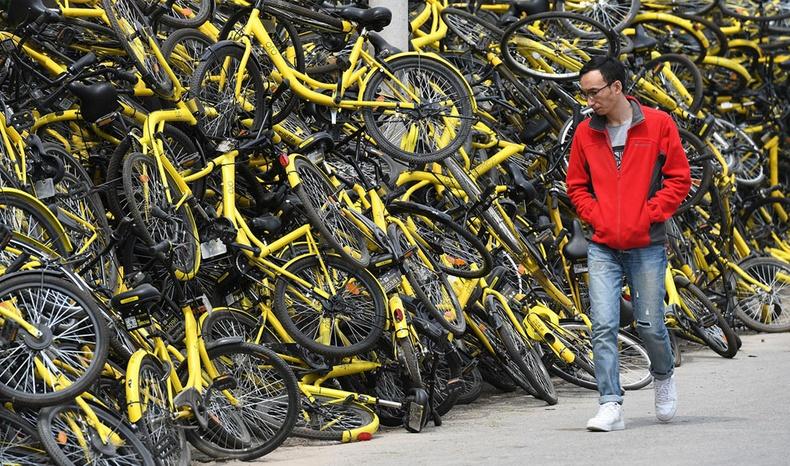 Хятадад унадаг дугуйны хэрэглээ хэт ихэссэн нь ямар асуудалд хүргэсэн бэ? (30 фото)