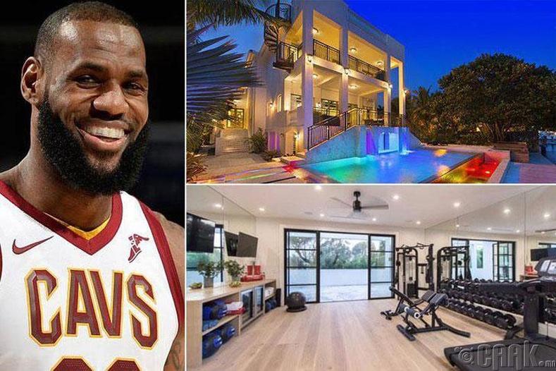 Леброн Жеимс (Lebron James) - Лос Анжелес, Брэнтвүүд, 23 сая ам.доллар