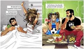 Комик бүтээсэн хосууд өөрсдийгөө илчилжээ