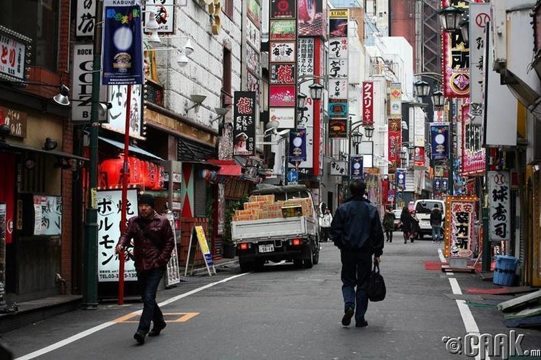 Японы ихэнх гудамж нэргүй