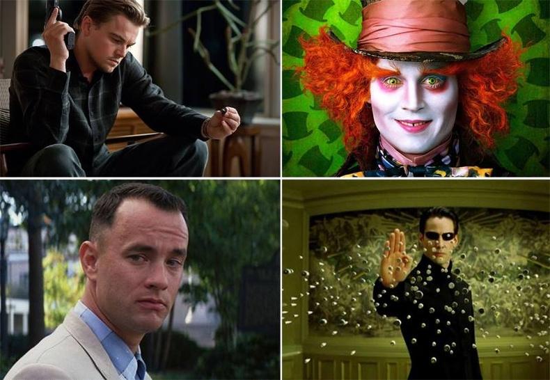Кино урлагийн түүхэнд хамгийн өндрөөр үнэлэгдсэн дүрүүд