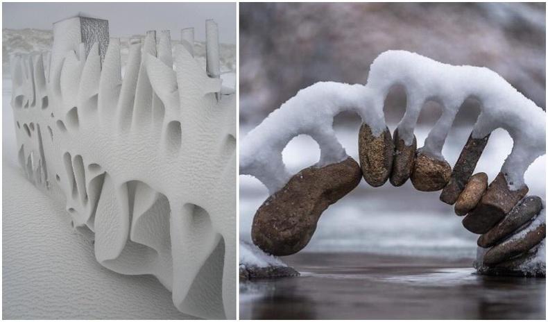 Цас мөсөн өвлийн үзэсгэлэнт төрх (35 фото)