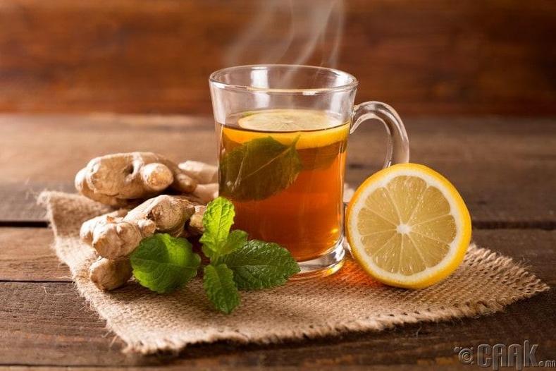 Нимбэг, цагаан гаатай цай бол гайхалтай үнэр дарагч