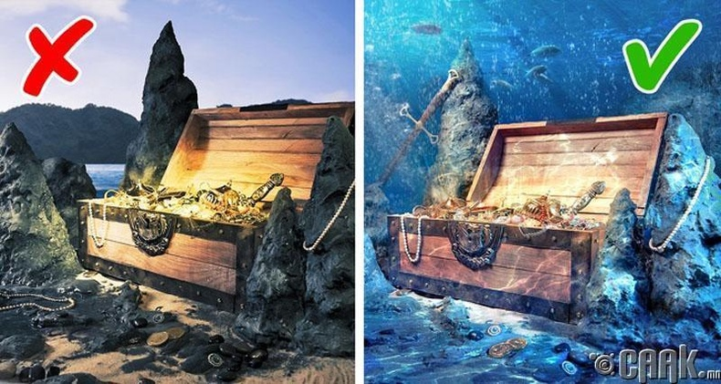 Далайн ёроолд олон мянган тонн алт байдаг