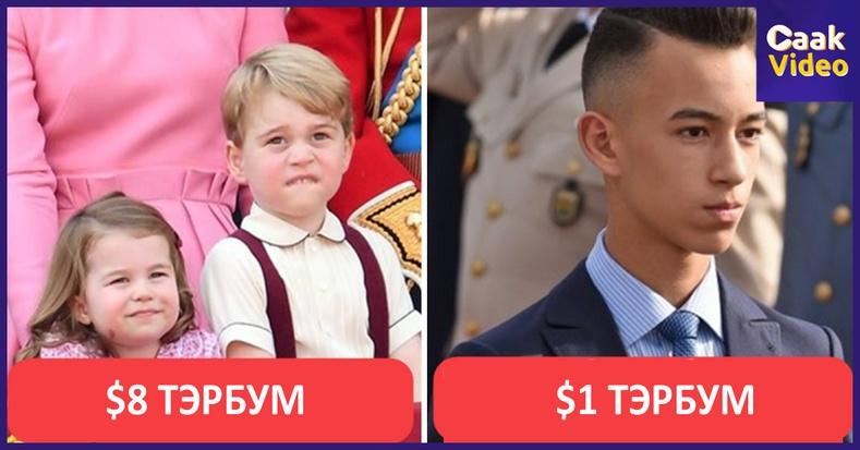 Өнөө цагийн хамгийн баян 10 хүүхэд