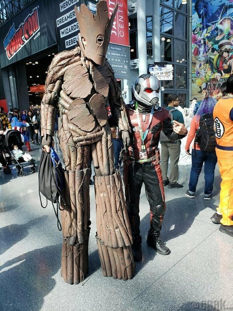 """Groot and the Star Lord"""