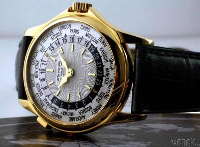 """Patek Philippe Platinum World Time""- 4 сая доллар"