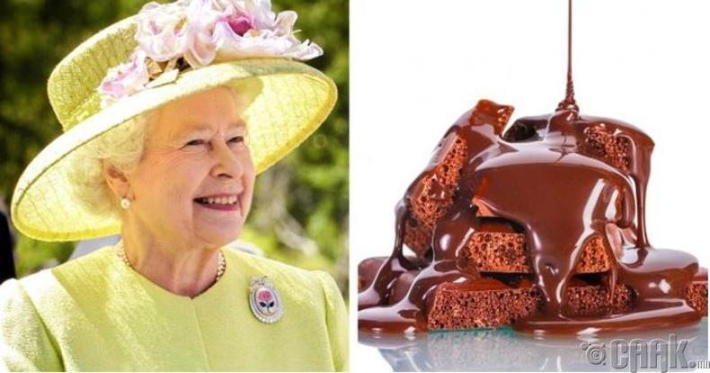 Тэр бол шоколадны донтон