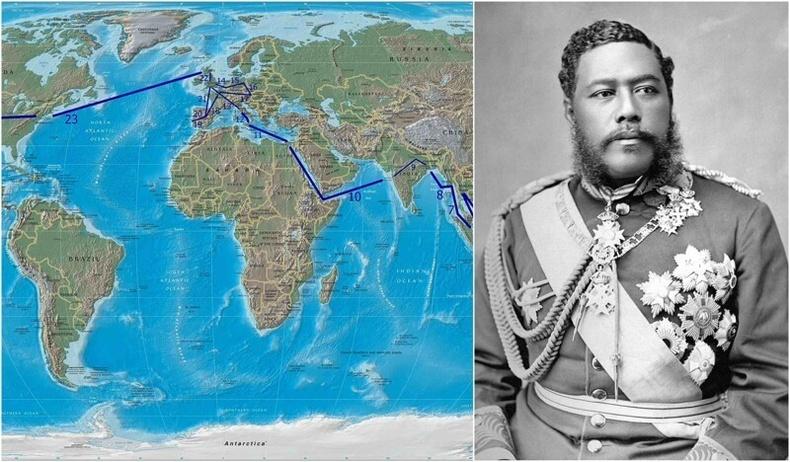 Хавайн сүүлчийн хаан дэлхийн өнцөг булан бүрээр аялж, нутгийнхаа соёлыг дэлгэрүүлжээ. Укулеле болон хула цагиргийг түүний ачаар бид хэрэглэж байна.